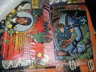 Jim Lee Mr Fantastic Four F4 cards marvel comics