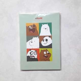 OFFICIAL We Bare Bears Notebook