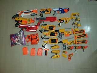 Assorted Pre-loved Nerf Guns