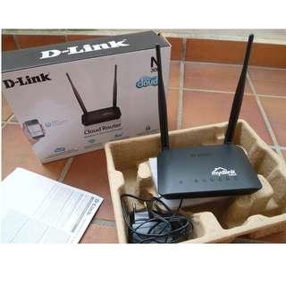 D-Link DIR-605L 300Mbps mydlink Cloud Wireless-N Router [b3]