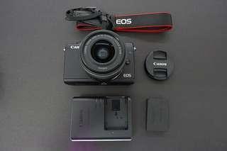 Canon M100 | 15-45mm | 24mp vlogging mirrorless