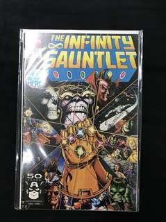 Infinity Gauntlet #1 Signed By George Perez