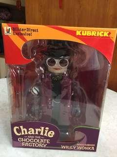 Kubrick 朱古力掌門人 Willy Wonka figure