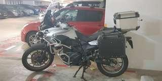 F700gs f700 bmw for sale with lots of accessories COE till 2025