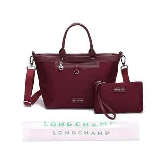 Longchamp set bags