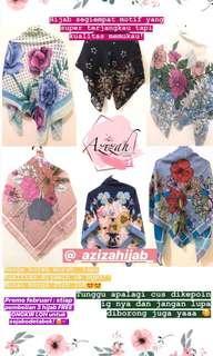 hijab motif premium harga terjangkau!