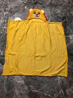 Lion bath robe