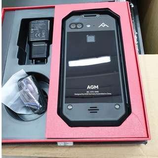 "AGM Waterproof Shockproof X2 Mobile Phone 5.5""FHD 6GB RAM Dual 12MP Camera Black"