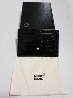 Montblanc Black Leather Cardholder