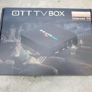 MXQ OTT Android TV Box OTT TV BOX 4K