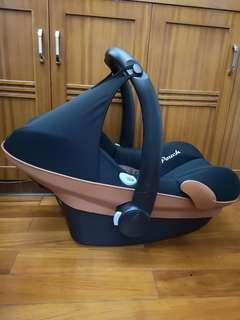 德國Pouch嬰兒初生兒bb手提籃baby car seat basket