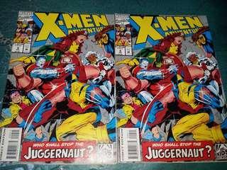 X-Men Adventures season 1 issue 9 marvel comics wolverine cyclops rogue colossus storm jubilee juggernaut