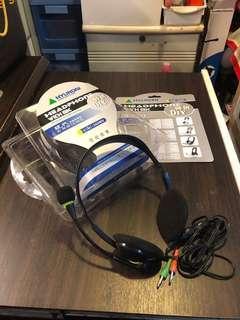 韓國現代 Hi Fi Stereo Hyundai Headphone  Model: CJC -302 MV  Headphone with mic  Hi Fi Stereo