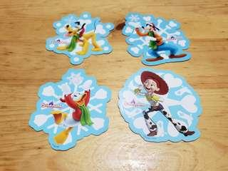 迪士尼貼紙 Disney stickers 雪花系列