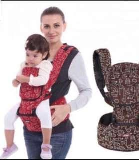 Baby Carrier with hipseat as good as new