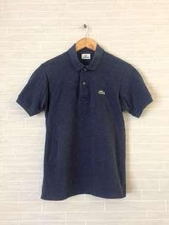 Mens LACOSTE 2-Buttons Polo Shirt - Size 3