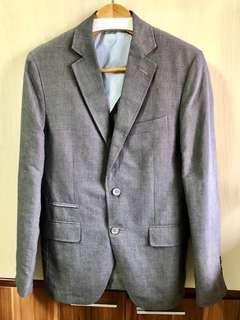 Massimo Dutti Grey Blazer / Jacket