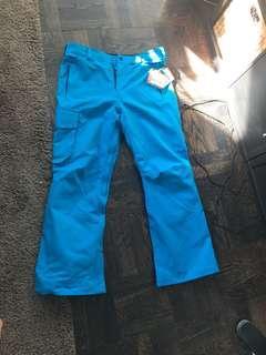 Volcom men's snowpants size medium blue
