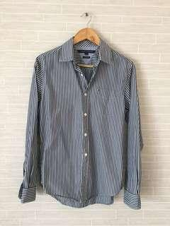 Almost New Mens TOMMY HILFIGER Striped Shirt