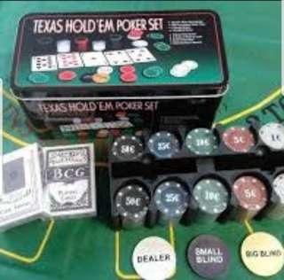 200 Texas Poker chips games BN high quality