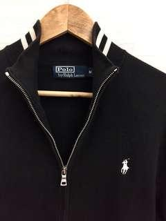 Excellent RALPH LAUREN zip sweater jacket