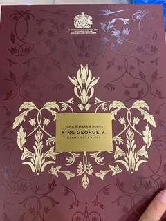 Johnnie Walker King George V 80th Anniversary of Royal Warrant 700ML