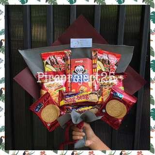 Snack bouquet / Bouqet snack