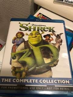 Shrek 3D  the complete collection Blu ray Disc