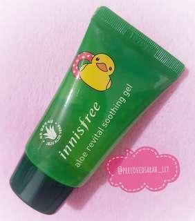 Innisfree X TOLO Aloe Revital Soothing Gel 20ml