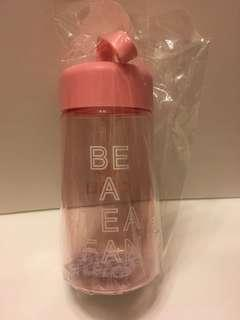 粉紅色水樽 茶里 380ml