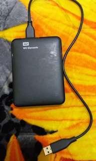 External harddisk WD 1TB