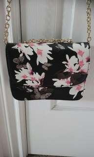 Floral purse new