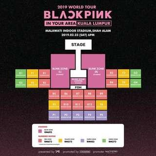 BLACKPINK CONCERT TICKET IN MALAYSIA