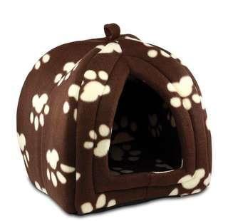 舒適 寵物 小屋 Pet Hut with Soft Fleece Cushion