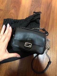 🚚 Like new Fendi double sided crossbody handbag