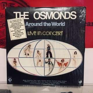 The Osmonds–Around The World - Live In Concert (2 ×Vinyl, LP) 黑膠