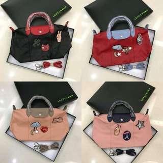 Longchamp Le pliage cuir Bonbon Bag CM039