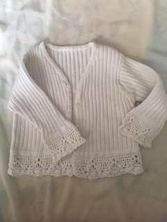 Mothercare Knitted Lacey Cardigan #MMAR18
