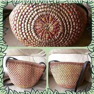❤️泰國斜揹籐編織手袋