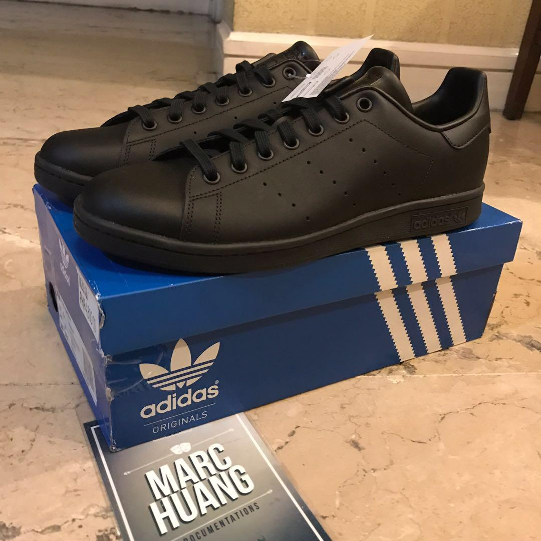 factory authentic 9ff5e 04a58 Adidas Stan Smith Triple Black on Carousell