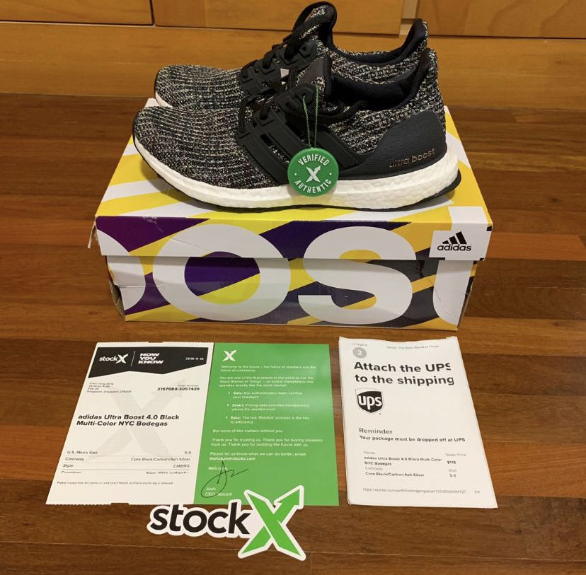 655f47c6 Adidas Ultraboost NYC, Sports, Sports Apparel on Carousell