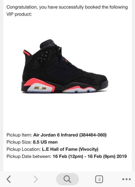 a3b9cd011355 Air Jordan 6 Infrared 2019