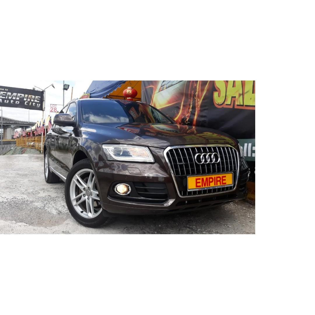AUDI Q5 2.0 ( A ) S-LINE QUATTRO TFSI AWD !! NEW FACELIFT !! PREMIUM FULL SPECS COMES WITH PADDLE SHIFT POWER BOOT AND ETC !! 8 SPEEDS !! ( MXX 77 ) 1 CAREFUL OWNER !!