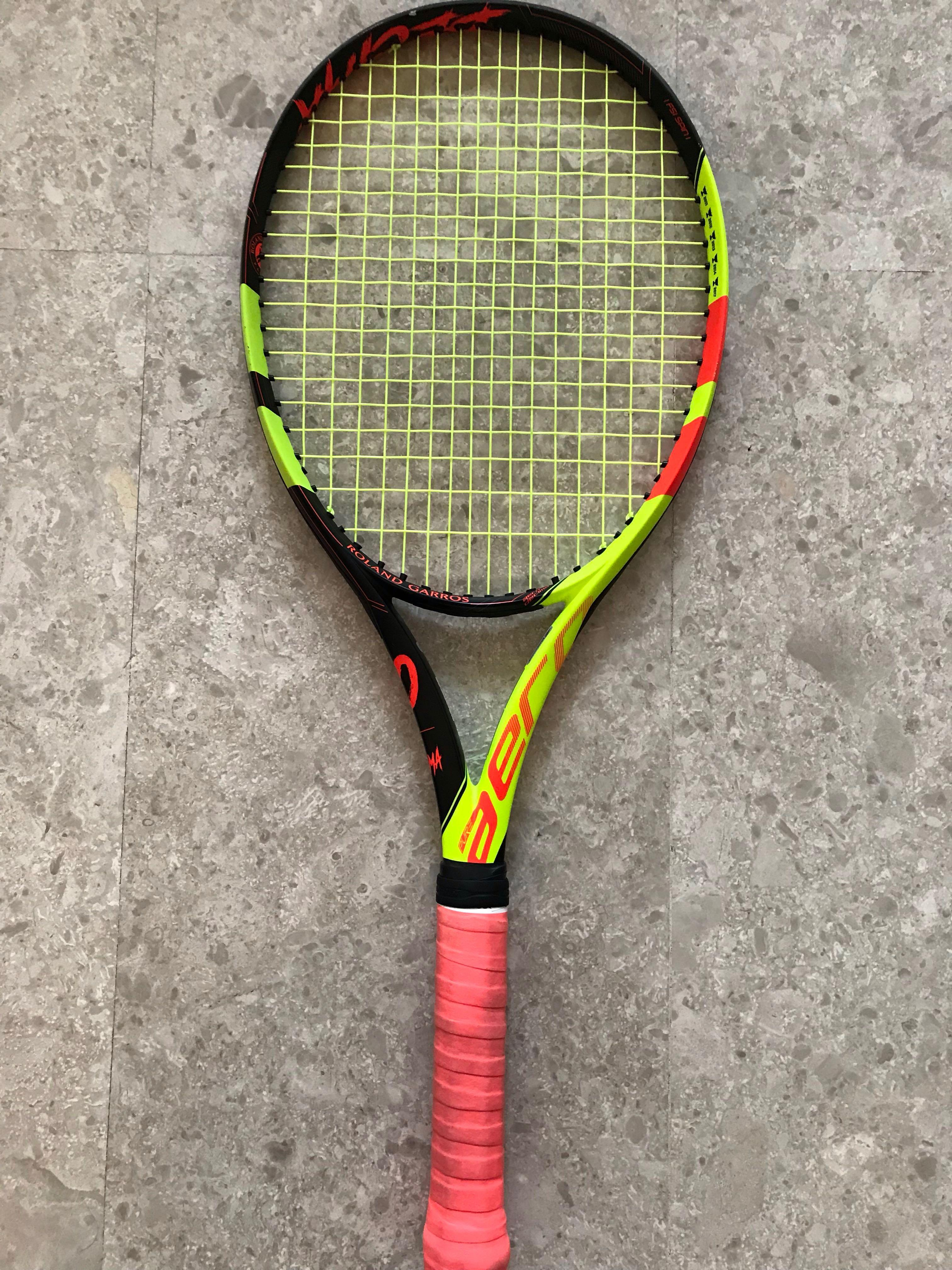Babolat Pure Aero La Decima New Special Edition Celebrating Nadal S 10 French Open For Sale Sports Sports Games Equipment On Carousell