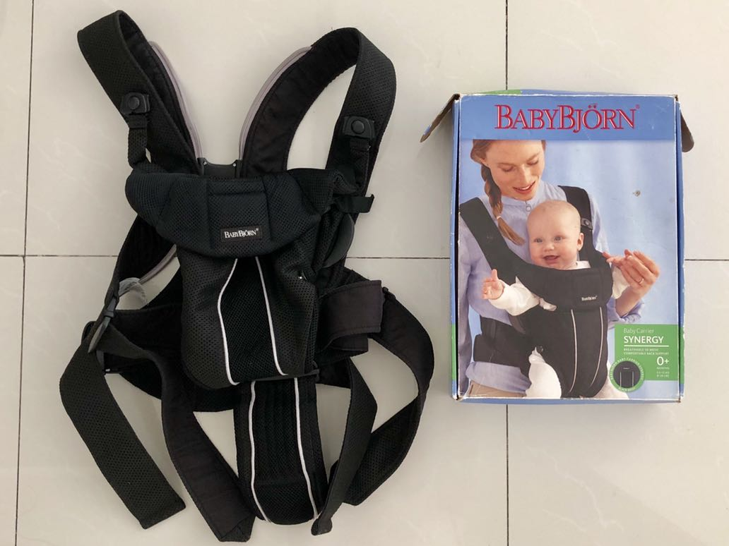 434e8ad7de8 Baby Bjorn Synergy Mesh Carrier - Black