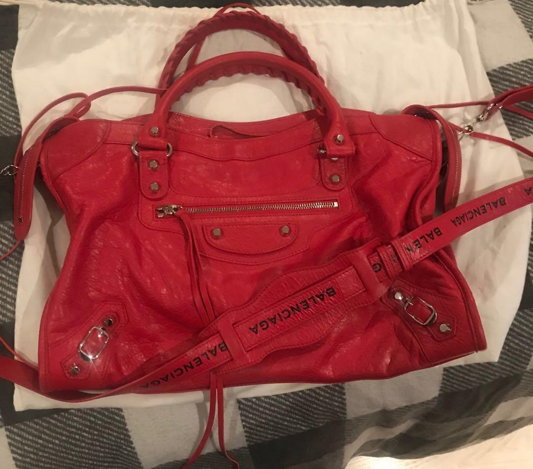 balenciaga women's med purse