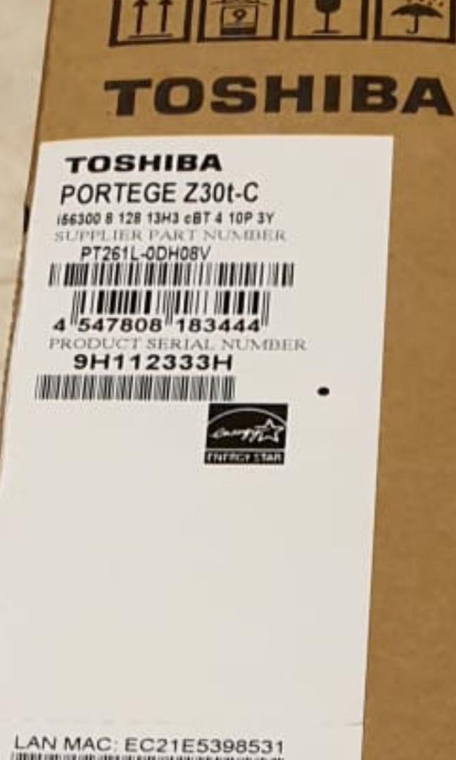 BNIB selling cheap Toshiba Portégé Z30t-C Laptop