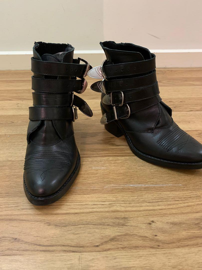 Brand New Never Worn Before 'Frenchy' Boots from Tony Bianco.