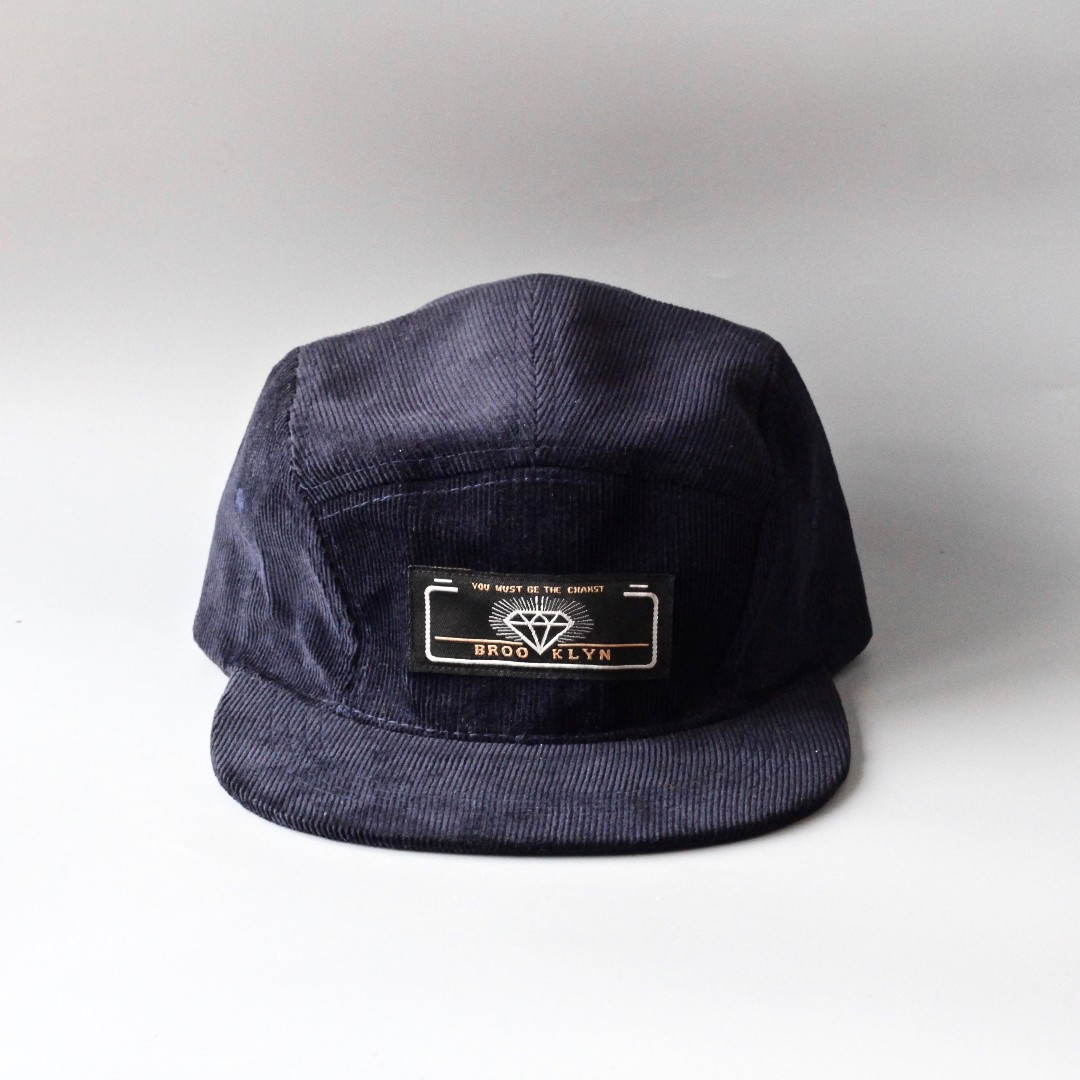 4cc87c0e9bc Brooklyn Corduroy Five Panel Hat for Hipsters