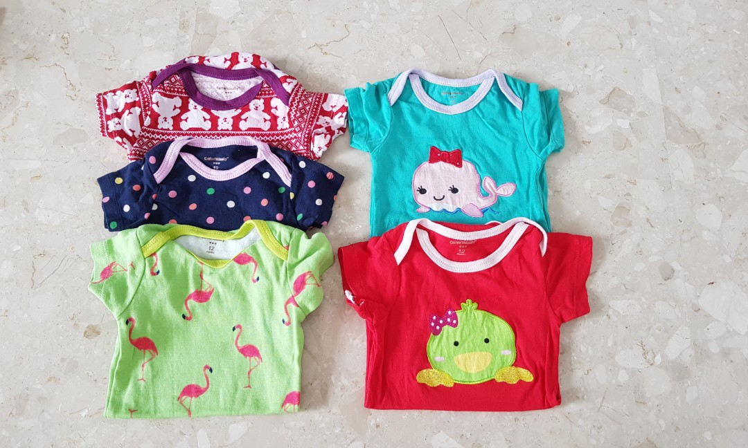 28d72030aeff Bundle of 5 rompers (3-6 months)